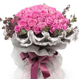분홍장미꽃다발(고급형)